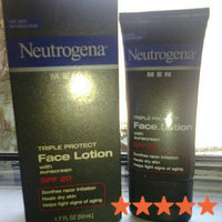 Neutrogena Triple Protect Face Lotion for Men SPF 20 uploaded by Julia G.