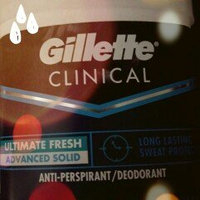 Gillette Clinical Advanced Solid Ultimate Fresh Antiperspirant/Deodorant uploaded by Omar P.
