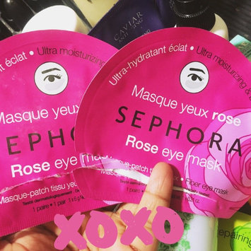 Photo of SEPHORA COLLECTION Eye Mask Rose - Ultra-moisturizing & Brightening uploaded by Nathalie F.