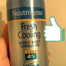 Neutrogena Fresh Cooling Sunscreen uploaded by Jazz C.