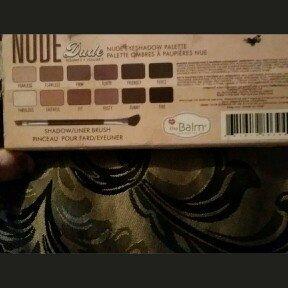 theBalm NUDE 'dude Eyeshadow Palette w/Twinbeauty Brush uploaded by Velia O.