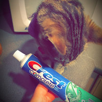 Crest Complete Complete Multi-Benefit Whitening + Scope Fluoride Toothpaste Minty Fresh Striped uploaded by Aspen F.
