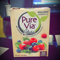 Pure Via Stevia Zero Calorie Sweetener - 40 CT uploaded by Reilly B.