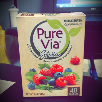 Photo of Pure Via Stevia Zero Calorie Sweetener - 40 CT uploaded by Reilly B.