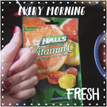Photo of HALLS Vitamin C Supplement  Assorted Citrus Drops uploaded by Simona C.