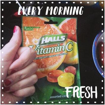 Halls Vitamin C Supplement Drops, Assorted Citrus, 30 Drops uploaded by Simona C.