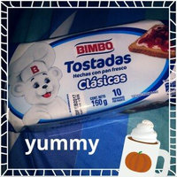 Bimbo Pan Tostado - Pan Blanco - Toasted Bread - 14 Slices 7.05 Oz (Pack of 3) uploaded by Gene A.