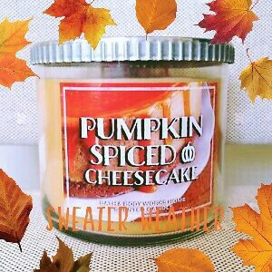 Bath & Body Works Bath and Body Works Pumpkin Cafe Pumpkin Cupcake Candle uploaded by Faith D.