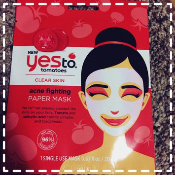 Yes to Tomatoes Clear Skin Acne Fighting Sheet Mask uploaded by Sonya W.