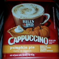 Hills Bros.® Cappuccino Drink Mix Pumpkin Pie 16 oz uploaded by Tory K.