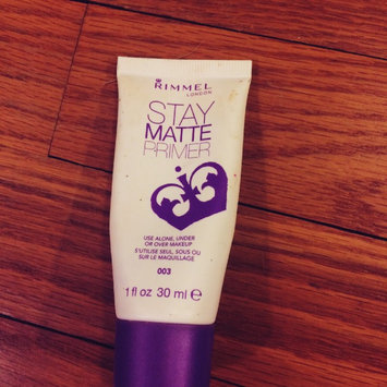 Rimmel Stay Matte Primer uploaded by Allison G.