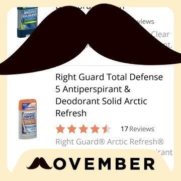 Right Guard Total Defense 5 Antiperspirant & Deodorant Solid Arctic Refresh uploaded by Jaime H.