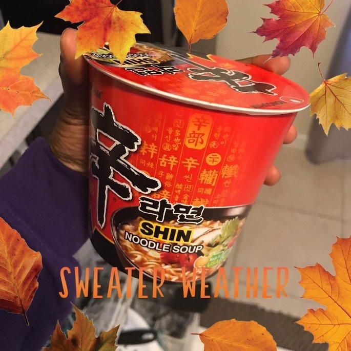 Nongshim Spicy Shin Ramen Cup uploaded by Shade B.