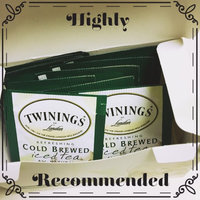 Twinings of London Green Tea Refreshing Cold Brewed Iced Tea W/Mint Tea Bags 20 Ct Box uploaded by Mary K.