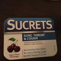 Sucrets Sore Throat & Cough Suppressant Lozenges Vapor Cherry - 18 CT uploaded by Katy S.
