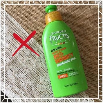 Garnier Fructis Style Sleek & Shine Anti-Humidity Smoothing Milk uploaded by Asel A.