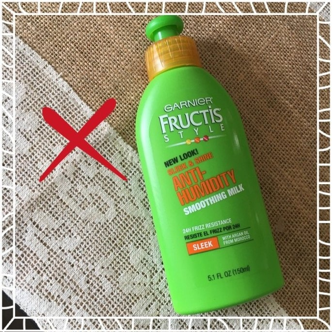 Garnier Fructis Style Sleek & Shine Anti-Humidity Smoothing Milk uploaded by Asel A.