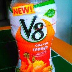 V8 Veggie Blends Carrot Mango uploaded by Dawn S.