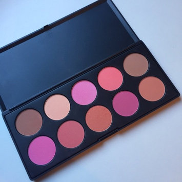Photo of BH Cosmetics 10 Color Professional Blush Palette uploaded by Jahara C.