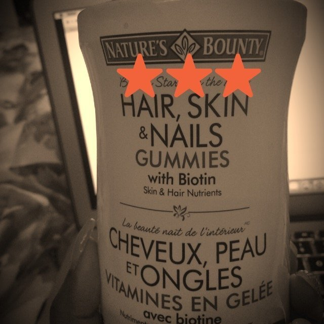 Nature's Bounty Hair, Skin & Nails Value Size Gummies uploaded by Tricia O.