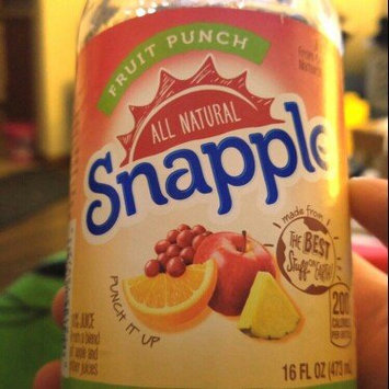 Photo of Snapple Fruit Punch Juice uploaded by Caressa W.