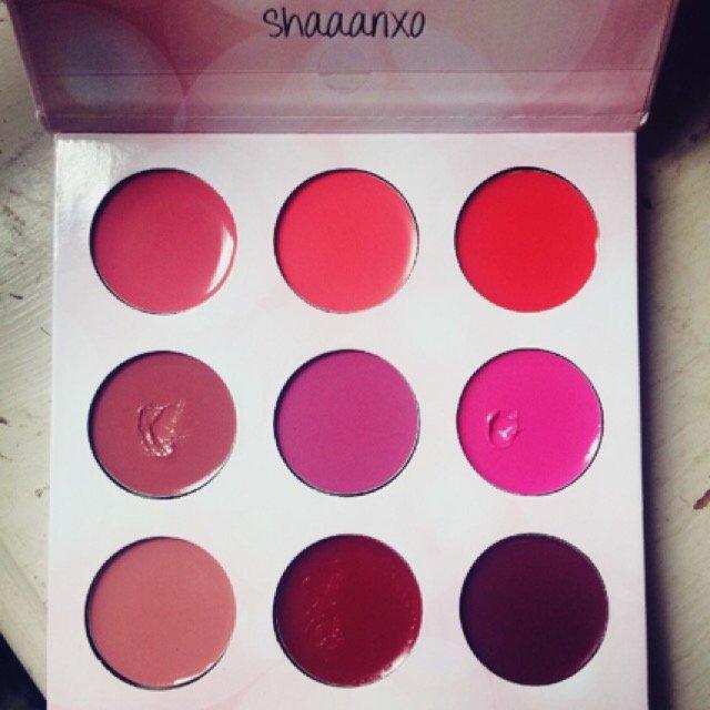 BH Cosmetics x Shaaanxo  Eyeshadow & Lipstick Palette