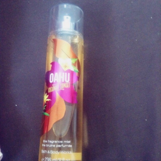 Bath & Body Works OAHU Coconut Sunset Fine Fragrance Mist