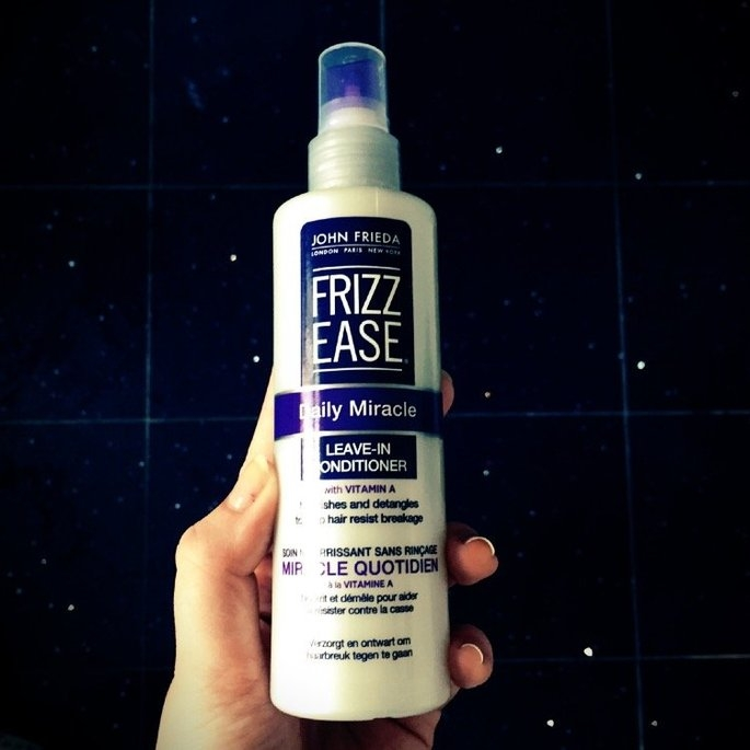 John Frieda Frizz-Ease Daily Nourishment Leave-In Conditioning Spray uploaded by Cathy W.