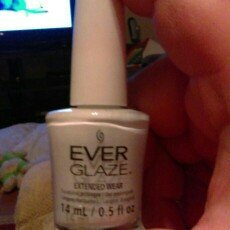Photo of China Glaze Ever Glaze Extended Wear Nail Lacquer uploaded by Kay L.