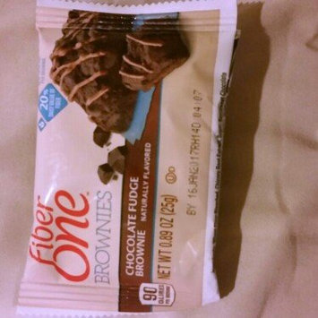 Photo of Fiber One 90 Calorie Chocolate Fudge Brownie uploaded by daisy a.