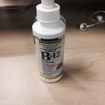 Nature's Bounty B-12 Sublingual Liquid 5000 mcg uploaded by Michelle F.