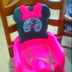 The First Years Disney Minnie Mouse Feeding Booster Seat uploaded by Sarah R.
