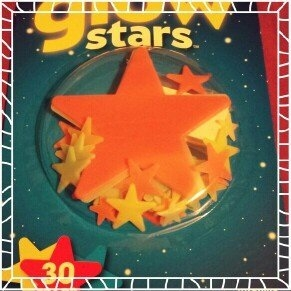 Generic Galactic Glow Stars, 30 count uploaded by Amber W.