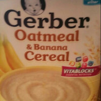 Gerber® Oatmeal & Banana Cereal 8 oz. Canister uploaded by Ericka H.