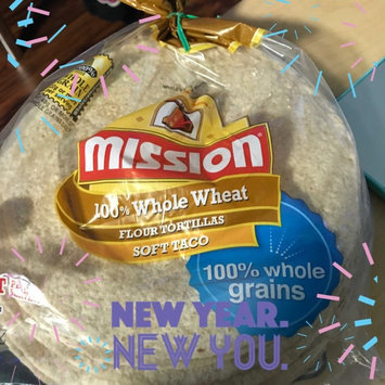 Photo of Mission® 100% Whole Wheat Medium Soft Taco Flour Tortillas 24 ct Bag uploaded by Aurora B.