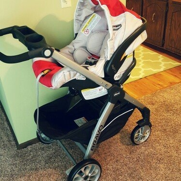 Chicco Bravo Trio Travel System - Lilla - 1 ct. uploaded by Inna L.