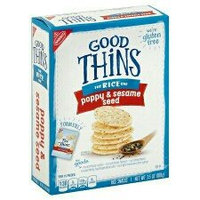 Good Thins Poppy & Sesame Seed Rice Snacks 3.5 oz. Box uploaded by Melissa M.