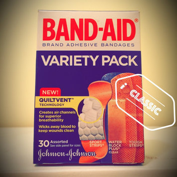 Photo of Band-Aid Adhesive Bandages Sheer Strips Extra Large - 10 CT uploaded by Rachel R.
