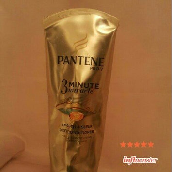 Photo of Pantene 3 Minute Miracle Smooth & Sleek Deep Conditioner uploaded by nora v.