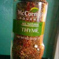 McCormick Gourmet™ Organic Thyme uploaded by Jennifer D.