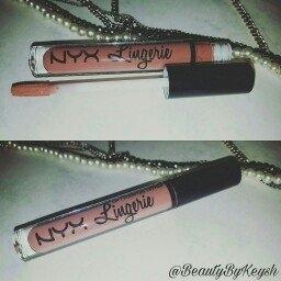 NYX Lip Lingerie Liquid Lipstick, Ruffle Trim uploaded by Lakeysha D.