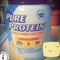 Pure Protein Vanilla Cream Whey Protein Powder - 2 lbs. uploaded by Kaitlyn P.