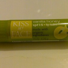 Photo of Kiss My Face Corp. Kiss My Face Lip Balm Cranberry Orange 0.15 oz Case of 24 uploaded by La V.