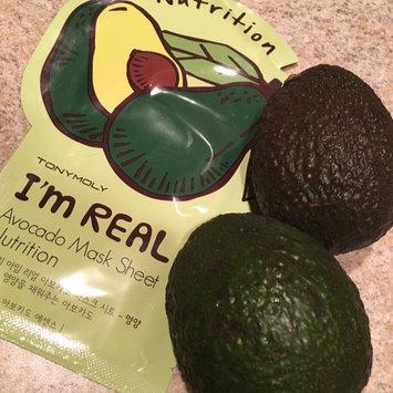 Tony Moly - I'm Real Avocado Mask Sheet (Nutrition) 10 pcs uploaded by krista b.