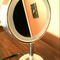 Conair Round Double-Sided Pivoting 5 inch Mirror Head  5x/1x Magnification uploaded by Marvie R.