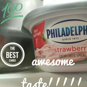 Philadelphia Cream Cheese Strawberry uploaded by sandra m.