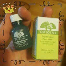 Photo of Origins Super Spot Remover™ Acne Treatment Gel uploaded by Anastasia K.
