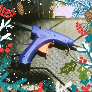 Sewing Patch Hot Glue Gun - assorted colors uploaded by swati s.