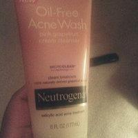 Neutrogena Oil-Free Acne Wash PinkGrapefruit Cream Cleanser uploaded by Taneka A.