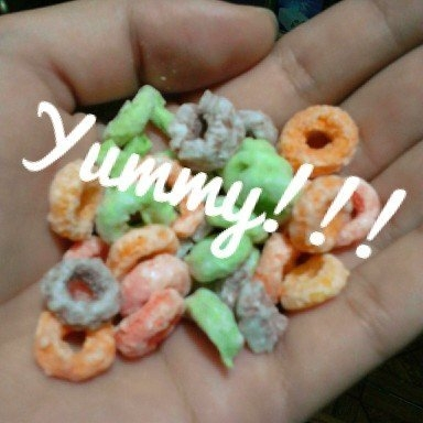 Kellogg's Froot Loops Cereal uploaded by Yanny E.